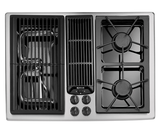"Jenn Air Microwave >> Jenn-Air Appliances – Reviews and Rankings JGD8130AD Jenn-Air 30"" Modular Gas Downdraft Cooktop ..."