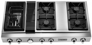 "Jenn Air Microwave >> Jenn-Air Appliances – Reviews and Rankings JGD8348CD Jenn-Air 48"" Pro-Style Modular Gas ..."