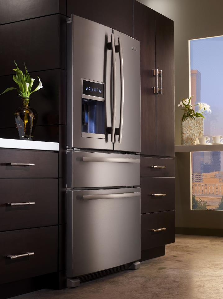 Jenn Air New Refrigerator Four Door Luxury